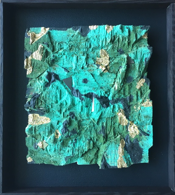 Gold On Verdigris 2