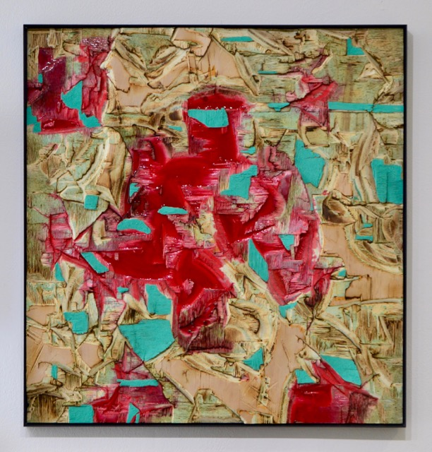 Red Resin And Verdigris 1