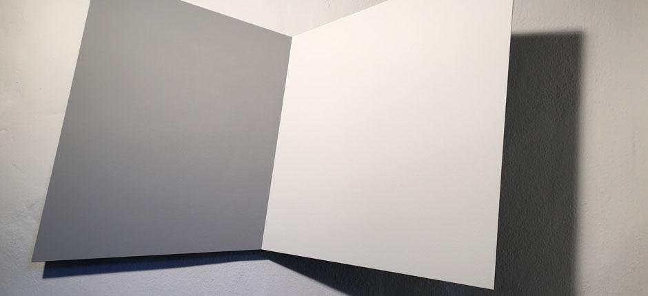 White Door Black Shadow